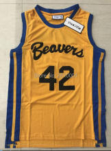 Teen Wolf Scott Howard 42 Beavers Movie Michael J Fox Werewolf 2017 Cheap Throwback Basketball Jerseys S-3XL Free Shipping(China)