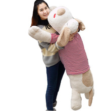 GIANT JUMBO Plush Dog Toy Soft Stuffed Animal Hold Pillow Toys Lovely Animal Doll for Kids Children & Girls Birthday Gift