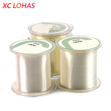 High Strength Nylon Fishing Line 500m Transparent Fly Fishing Line Floating Line for Sea River Lake Fishing Accessories