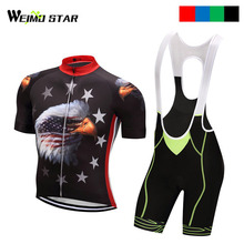 Eagle T-Shirt Cycling Jersey WEIMOSTAR Men Short Sleeve cycling clothing Maillot Ciclismo roupa ciclismo cycling set