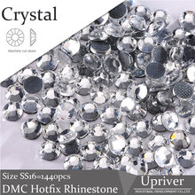 Giltter Strass Stones And Crystals Crystal Rhinestones For Clothes Sewing Dress Accessories Hotfix Rhinestone Applique(Hong Kong)