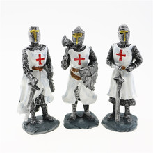 Cute European Knights of the Red Cross, Table Decor and Model, Three Options, Europe Souvenir