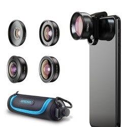 5 в 1, объектив для камеры телефона