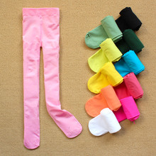 HOT 2016 NEW 1PCS Autumn velvet Pattern Good quality Kids tights for girls children tights 3-12 year girls tights RD5241(China)