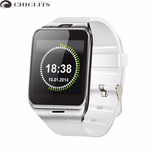 Chiclits Smartwatch Smart Wearable Devices GV18 Watch for Men Montre Connecter Bluetooth Android Passometer Electronic IOS Watch(China)