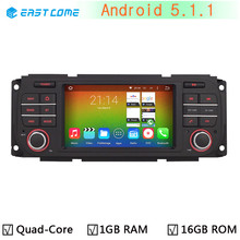 Quad Core Android 5.1.1 Car DVD GPS Radio Autoradio Player for Jeep Wrangler 2003-2006 Liberty 2004-2007 Grand Cherokee 2004