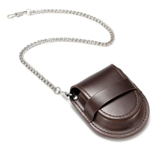 Brand New Brown mini Watch Mechanical Table Accessories PU Leather Set Packaging Box Promotion