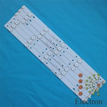 3set 40'' 775mm*17mm 10leds LED Backlight Lamps LED Strips w/ Optical Lens Fliter for TV Monitor Panel New