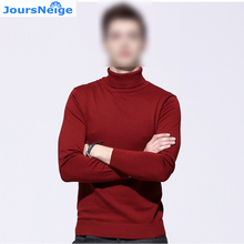 Mens Knitted Pullovers Man 2017 Spring New Fashion Turtleneck Slim Knitwear Knitted Sweaters and Pullovers Jumper Teenager Tops