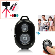 Wireless Bluetooth Remote Control Shutter Universal Remote for Tripod Selfie Stick for iPhone 8 Xiaomi IOS Andriod Phone(China)