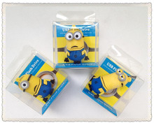 minions Despicable Me USB 2.0 usb flash drives thumb pendrive u disk usb creativo memory stick 4GB 8GB 16GB 32GB 64GB HS1