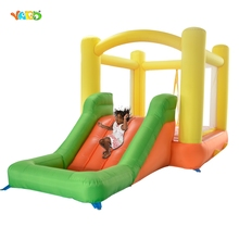 YARD Inflatable Bounce House Mini Trampoline Jumping Castle for Kids Birthday Party