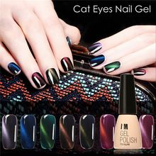 1Pcs Beauty Skin Gel Nail Cat 's Eye Nail Polish Matte Manicure Soak Off Color Gel Nail Polish Base Top Coat UV LED Nail Art