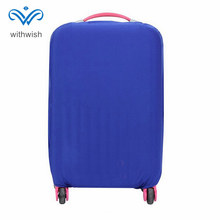 "Waterproof Suitcase Protective Cover High Elastic Luggages Cover Size S/M/L for 20'' 22'' 24'' 26'' 28'' 30"" Travelling Cases"