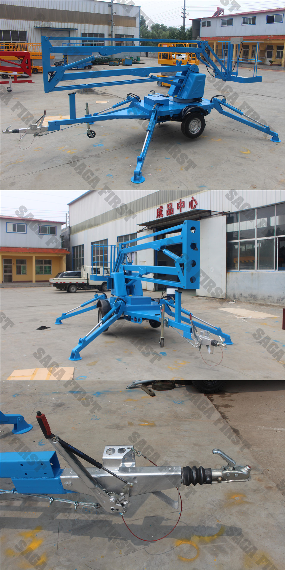 spider boom lift table platoform