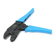 LS-2546B Crimping Plier MC4 Solar Panel Cable Connector Crimping Tool Pliers Terminal Ratcheting Crimper 2.5 / 4.0 / 6.0MM2
