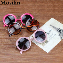 Fashion Round Cute Brand Designer Child Gilrs Sunglasses Anti-uv Baby Vintage Glasses Girl Cool Eyewear Boys Kids Oculos