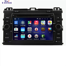 2G RAM+32G ROM 8 Core Android 6.0 Car GPS Navigation for Toyota Prado Cruiser 120(2003-2009) Radio+RDS+BT+WiFi+AUX+Mirror Link