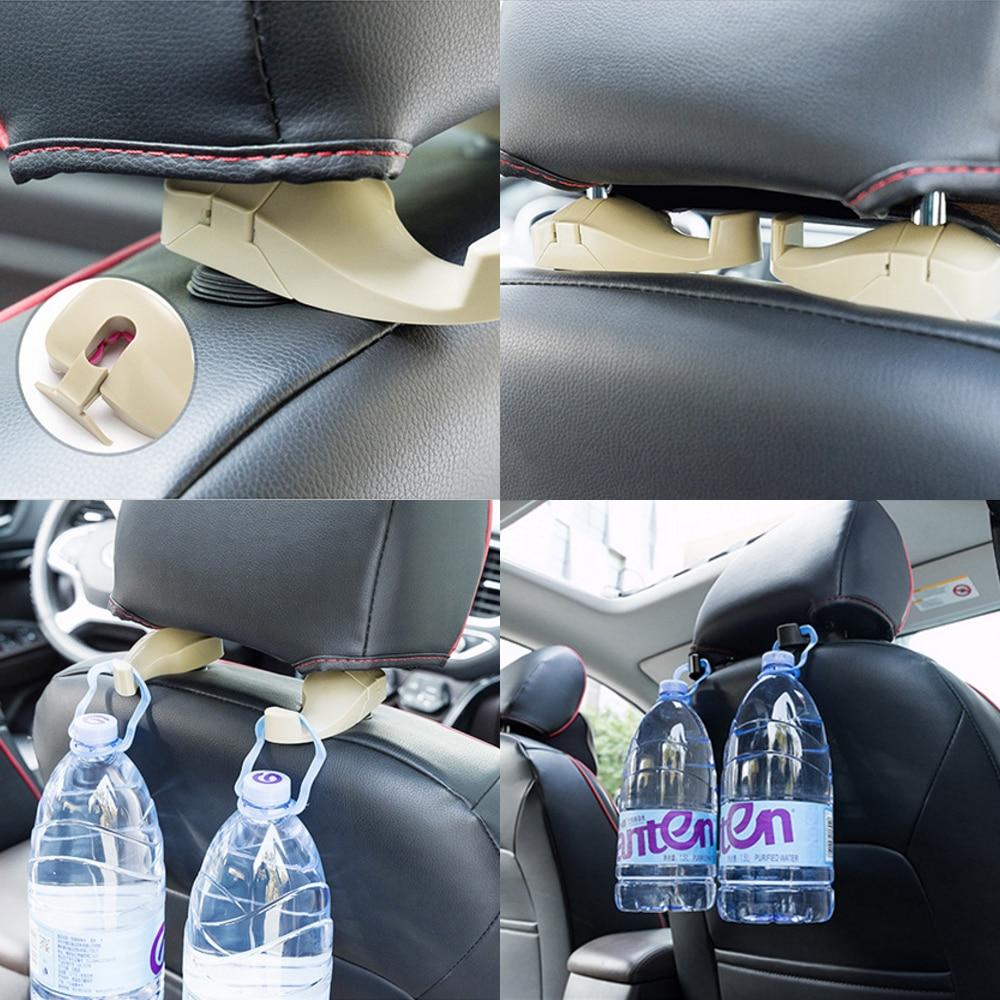 Portable Car Back Seat Headrest Exclusive Hook Hanger