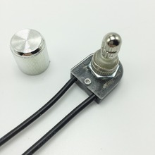 3A Lamp rotary switch ceiling light switch wall lamp switch lamp knob switch 2 wire single control 3PCS/Lot free shipping