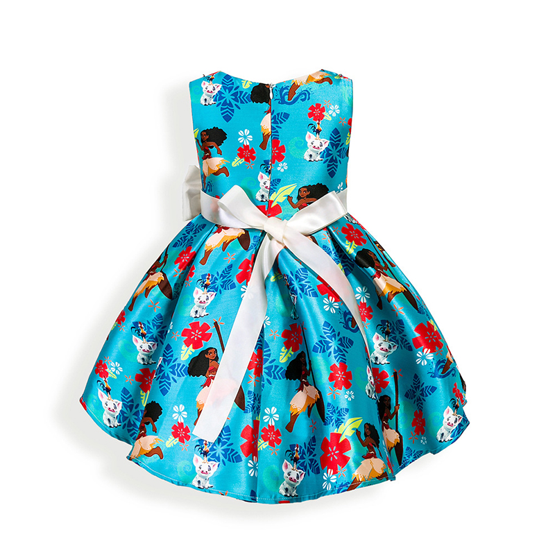 DEXIA Girls Summer Princess Dress European and American Style Ball Gown For Party and Wedding Children Clothing For Baby Girls