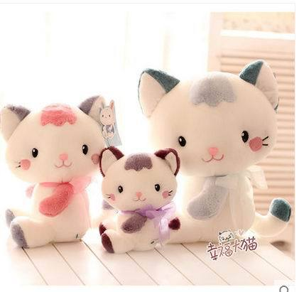 Free shipping  20cm Lovely big face cat plush toy 1piece Cat Stuffed animals pillow birthday gift<br><br>Aliexpress