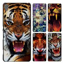 Tiger Angry tigers Style Case Cover for Sony Ericsson Xperia X XZ XA XA1 M4 Aqua E4 E5 C4 C5 Z1 Z2 Z3 Z4 Z5