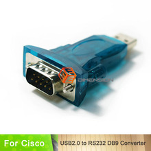 High Quality Network RS232 adapter USB 2.0 to DB9 adapter for Cisco Network