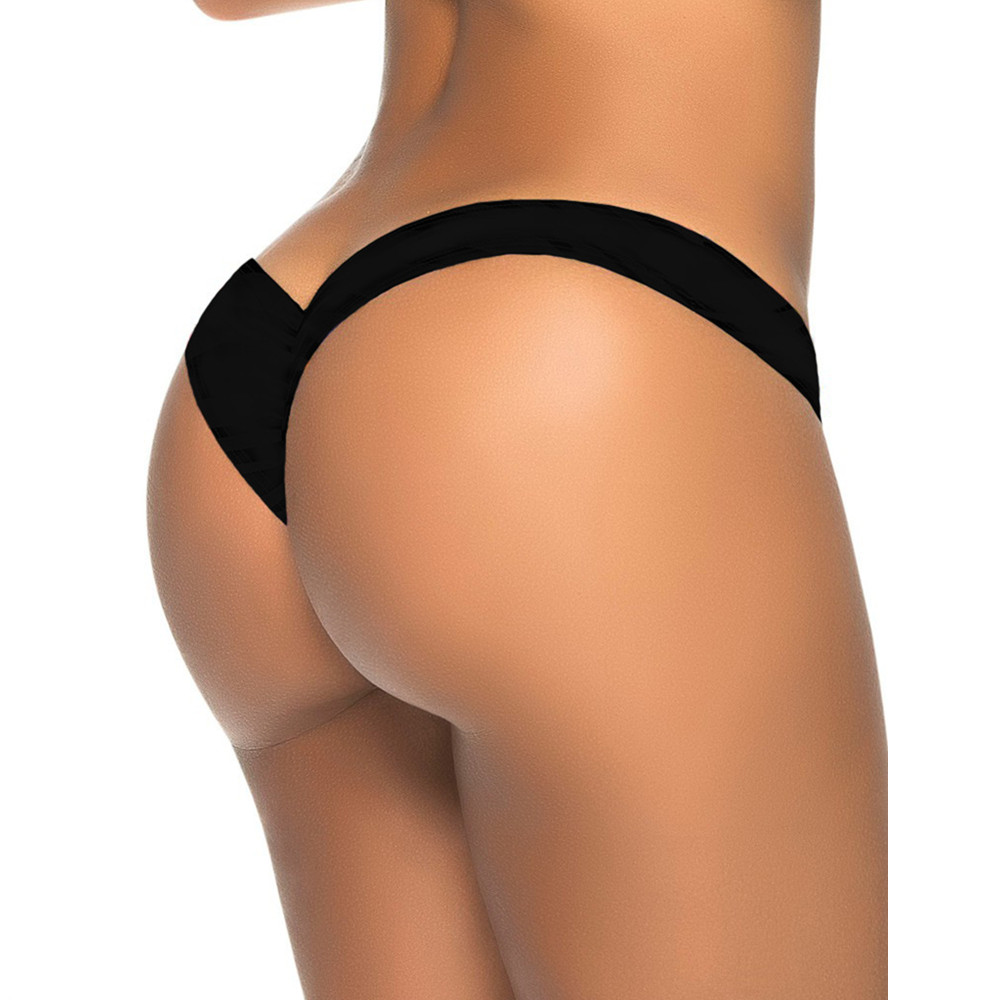 2016 new hot V-shaped bottom sexy bikini swimwear female swimsuit trunks Brazilian Tanga micro underwear briefs free shipping<br><br>Aliexpress