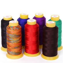 Size 0.25mm/0.5mm/0.75mm/1.2mm 7 Colors Chinese Knot Cord thread Silk Beading Thread, For DIY Stitching Thread Sewing craft