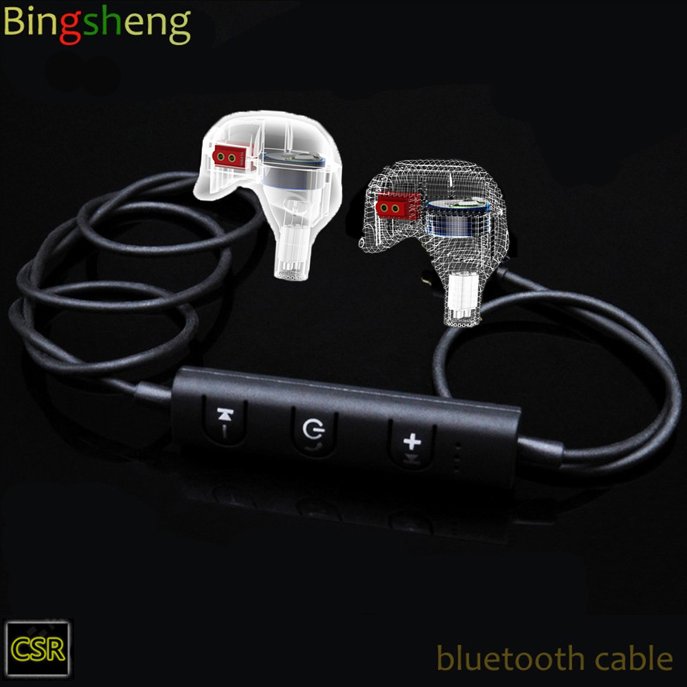 bluetooth earphone  cable for kz zsr ZS6