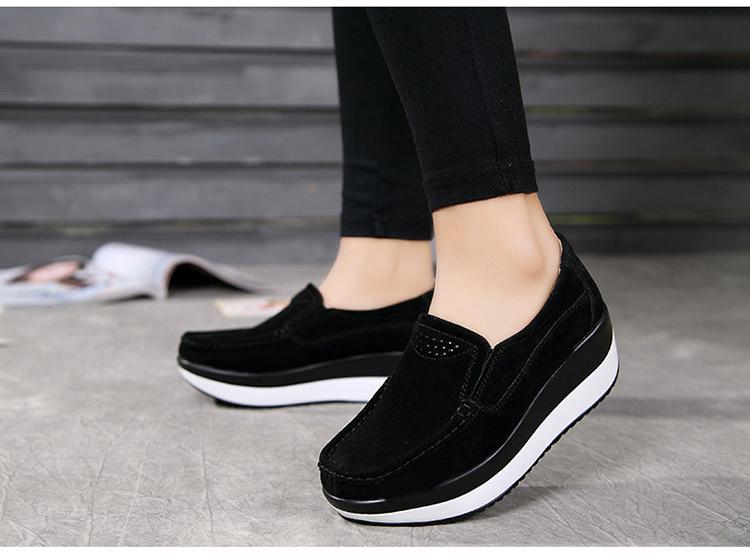 HX 3213 (12) Autumn Platforms Women Shoes