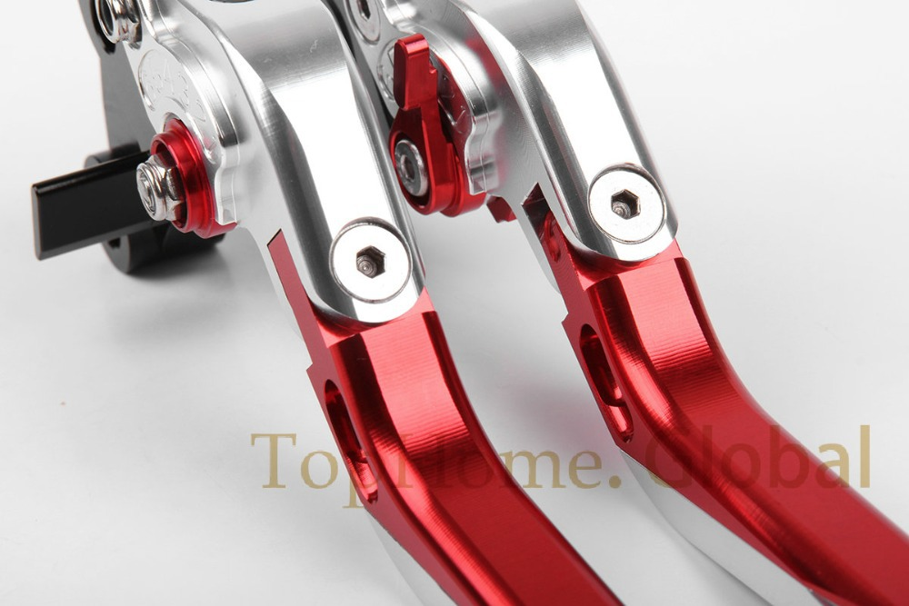 Motorcycle Accessories CNC Foldable&amp;Extendable Brake Clutch Levers For Honda CBR1000RR/FIREBLADE 2004-2007 2005 2006<br>