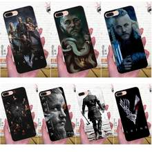 Мягкий чехол для телефона Apple iPhone 4 4s 5 5C 5S SE 6 6 S 7 8 Plus X XS Max XR Ragnar Lothbrok Vikings Bling(Китай)