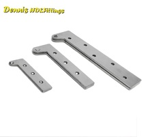 4PCS/Lot Stainless steel Pivot Hinge Knife Hinges Inset Patch Fittings(China)