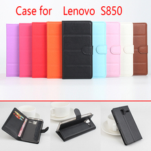 Buy Lenovo s850 Phone Case Folio Flip Pure Color Lichee Pattern PU Leather Wallet Case Cover Cash/Card Slots sanheng for $4.13 in AliExpress store