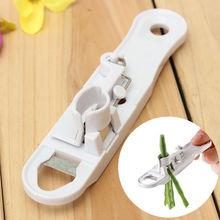 Kitchen Remover White Home Bean Slicer Stainless Steel Runner Cutter Divider Peeler Tool Blade Vegetable Stringer(China)