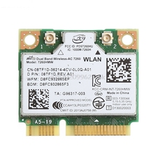 Dual Band Bluetooth 4.0 Wireless Mini PCI-E Card For Intel 7260 AC for DELL 7260HMW #H029#(China)