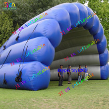 Giant inflatable stage dome tent for musical events big inflatable outdoor event tent for carnival parties and promotion(China)