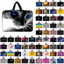 "Notebook Laptop Cat Zipper Inner Bag For Samsung Lenovo Dell 11.6"" 12"" Mini PC Neoprene Briefcase For Chuwi H12 Free Shipping"