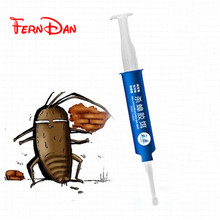 1pcs High Quality Strength Drugs Cockroach Killing Bait Trap Nontoxic Effects insect pest repeller Spraying Pest Control(China)