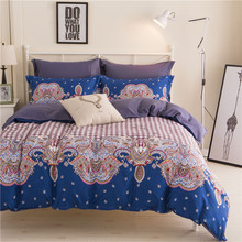 New Cotton Bedding Set Duvet Cover Sets Bed Sheet European Style Adults Kids Bedroom Sets Queen/Full/Twin Size Bedlinen(China)