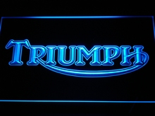 d051 Triumph Motorcycles Services Repairs LED Neon Sign(China)