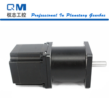Buy Geared motor planetary reduction gearbox ratio 30:1 nema 23 stepper motor L=54mm cnc robot pump for $72.00 in AliExpress store