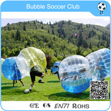 Free shipping 10 pcs (5 Red +5 Blue ) 1.2m zorb ball,inflatable bubble football,Bumper Loopy Ball For  Sports,bubble soccer