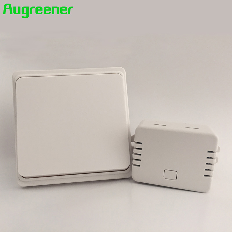 2017 Special Offer Top Fashion Ce Rohs 3 Button + 1 Receiver Remote Control Wireless Wall Switch With No Battery
