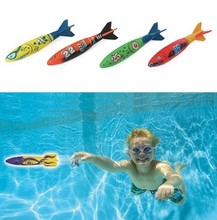 Swimming pool diving parts water playing fun plastic ring one set accessories parts(China)