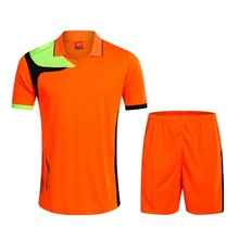 Men 2017/2018 quick dry Training Sports T-shirts Adult football team kits soccer sets Breathable Jersey