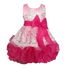 Lush Formal Prom Party Ball Gown Little Bridesmaid Wedding Children Tutu Dress Girl Baby Kids Girls Dresses