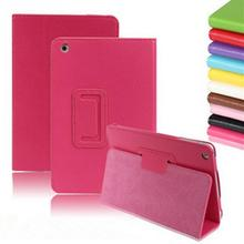 Fashion litchi pattern PU Leather Case Retina Smart Stand Magnetic Sleep Wake UP Pouch Cover for iPad mini1/2(China)